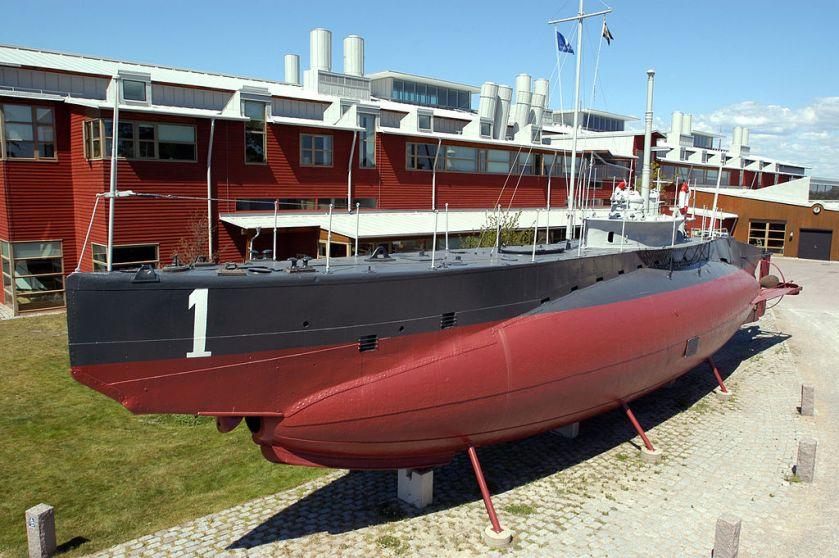 HMS_Hajen karlskrona sub