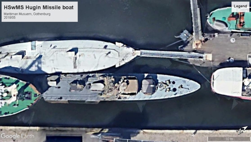 HSwMS Hugin missile boat Maritima Gothenburg 2018