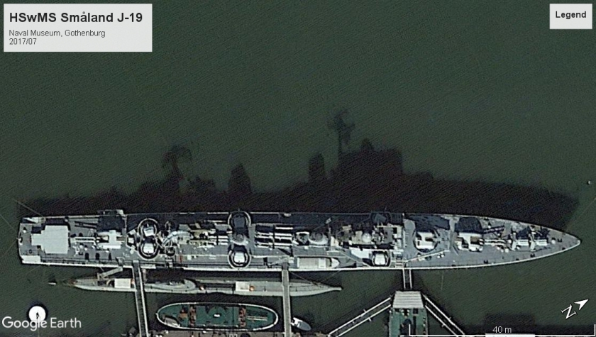 HSwMS Smaland J-19 - Gothenburg 2017-7