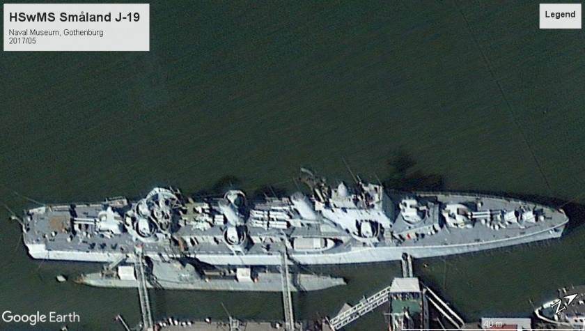 HSwMS Smaland J-19 - Gothenburg 2017