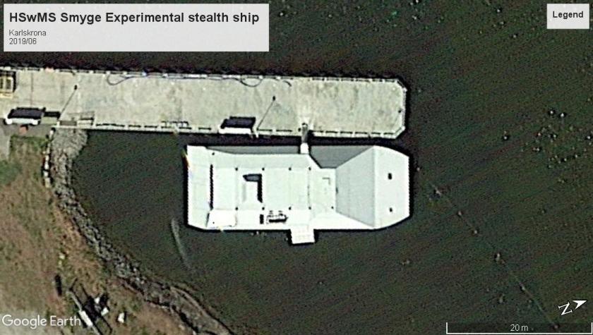 HSwMSSmyge Experimental stealth ship Karslkrona 2019
