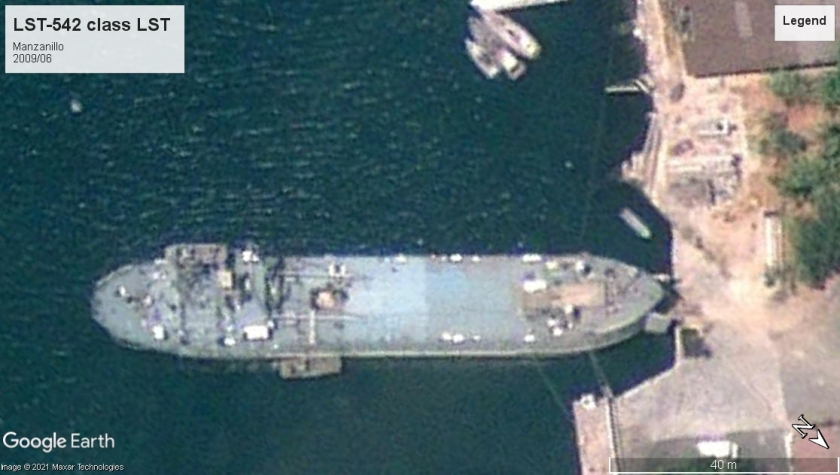 LST-542 Manzanillo 2009