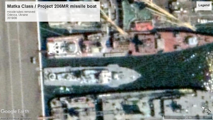 Matka class missile boat odessa 2019