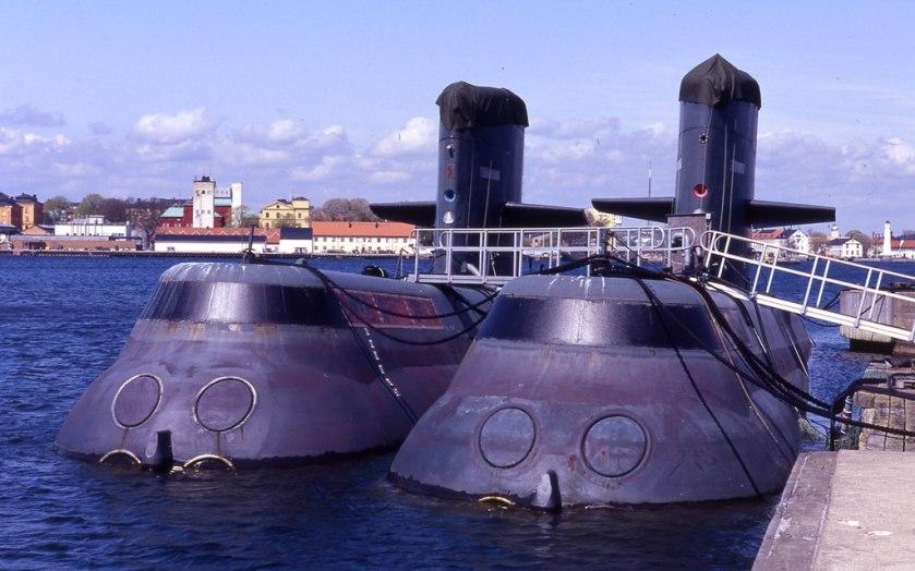 Najad subs laid up 2003 Karlskrona