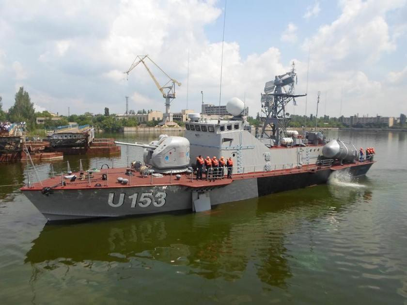 Pryluky Matka missile boat Ракетний_катер_«Прилуки»_ВМС_ЗС_України_провів_перші_ходові_випробування_(27379947786)