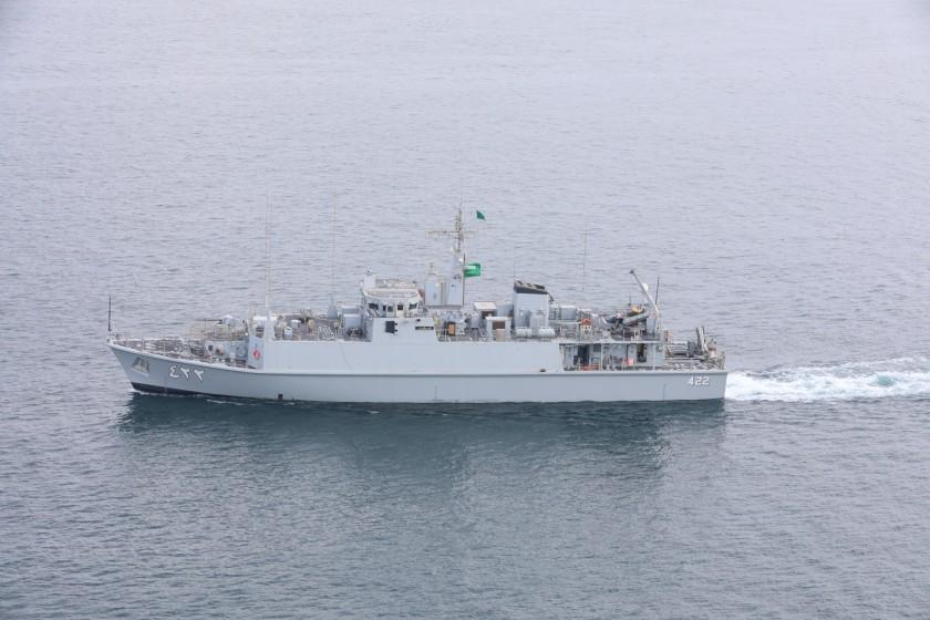 Saudi, UK, U.S. Naval Forces Conduct Mine Countermeasures Training