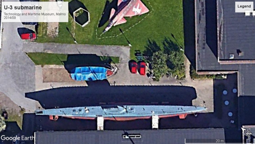 U-3 Tech and Mar Museum Malmo 2014