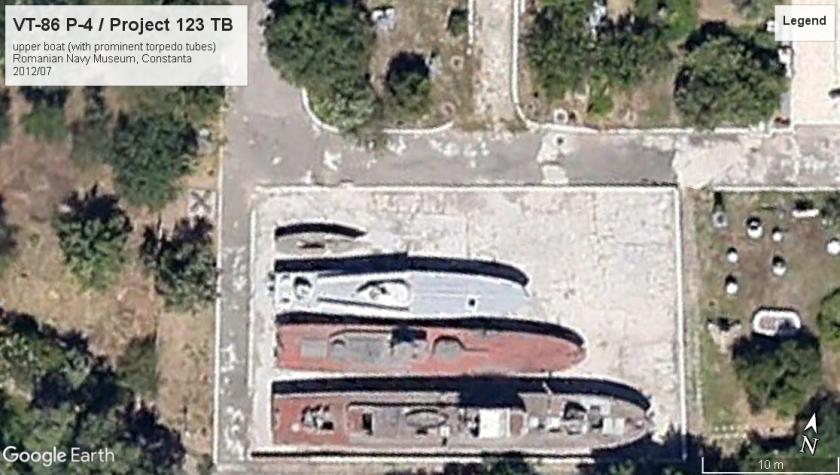 VT-86 MTB P-4 Constanta museum 2012