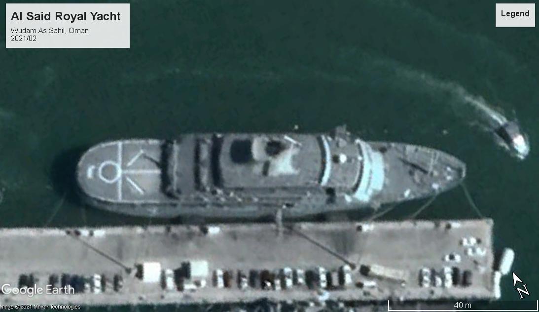 Al Said Royal Yacht WS Oman 2021