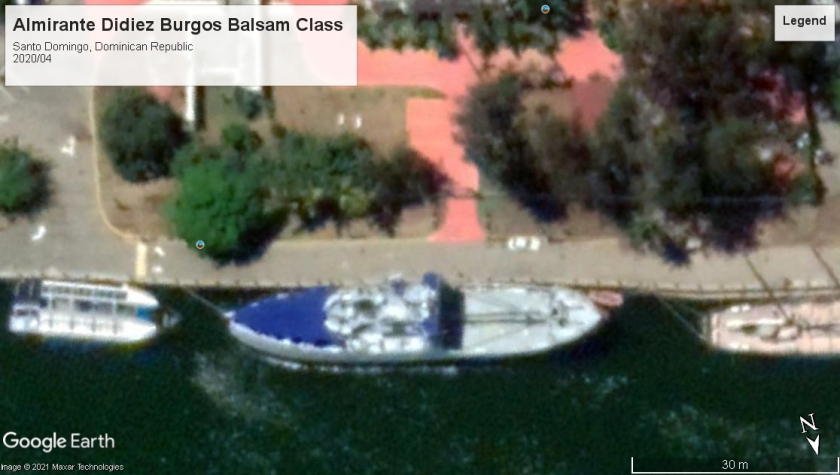 Almirante Didiez Burgos Balsam class Santo Domingo DR 2020
