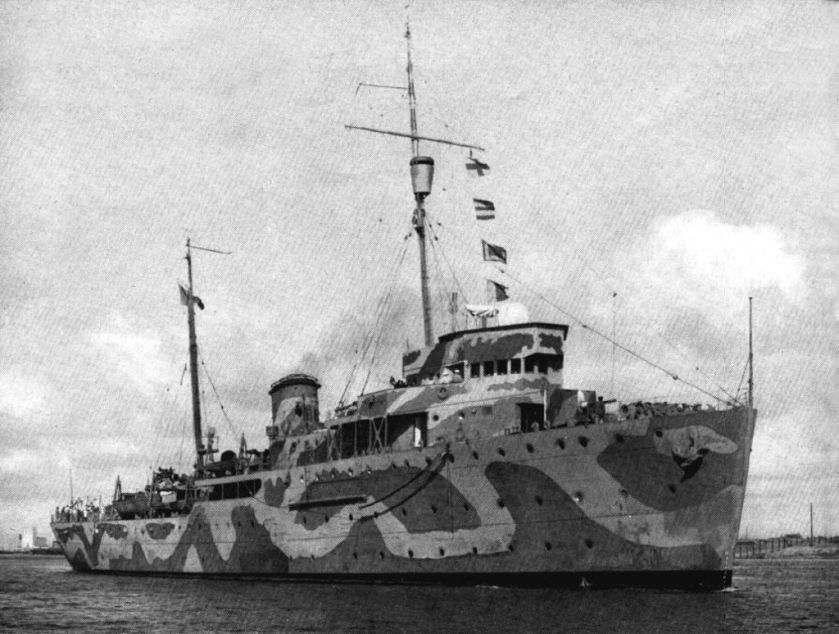 ARM Durango Mexican_gunboat_ARM_Durango_in_the_1940s