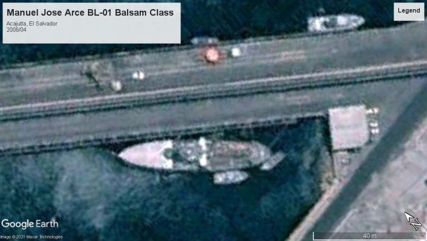 Balsam class Acajutla El Salvador 2006