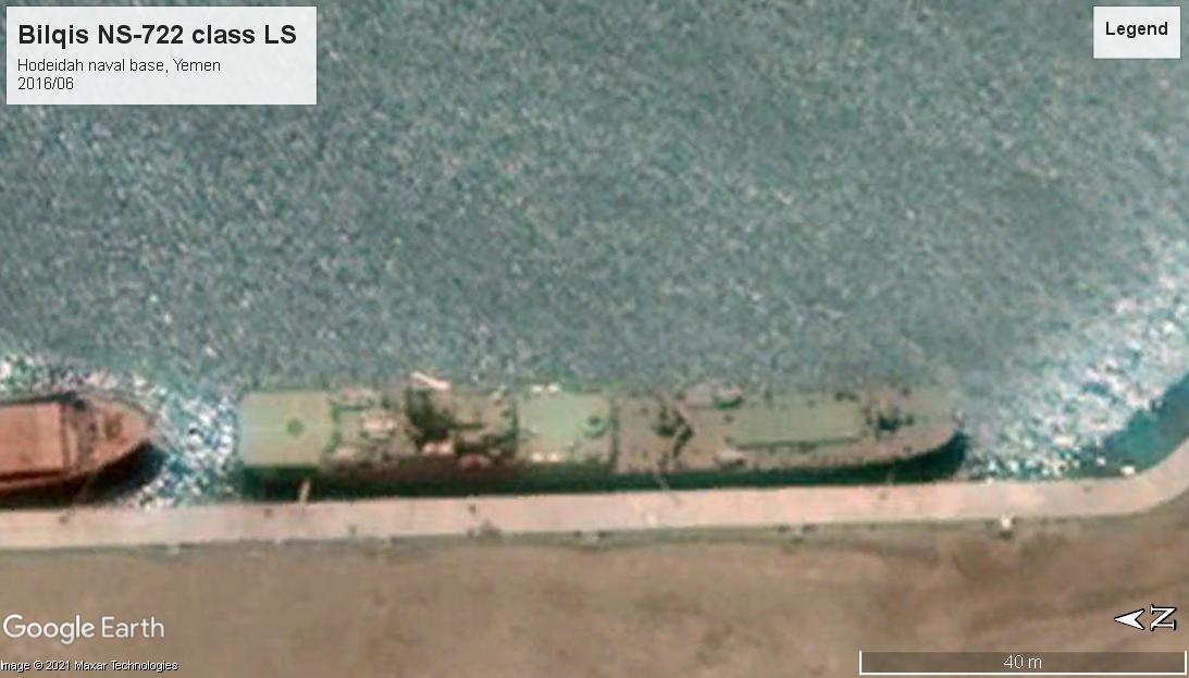 Bilqis NS-722 LS Yemen 2016