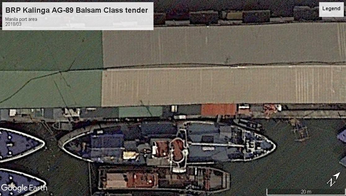 BRP Kalinga AG-89 Manila port 2018
