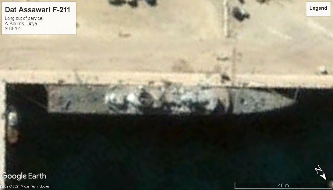 Dat Assawari F-211 Al Khums Libya 2006