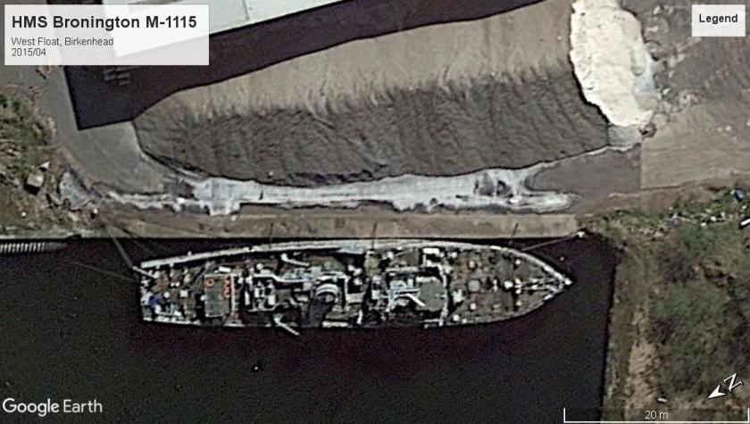 HMS Bronington M-1115 West Float 2015