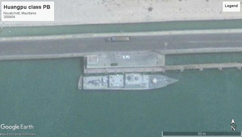 Huangpu class PB Nouakchott, Mauritania 2009