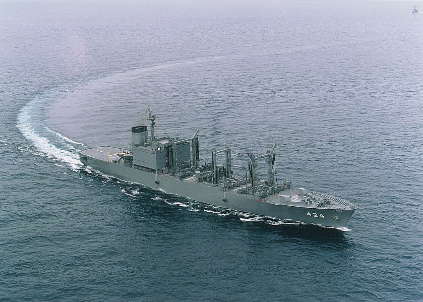 JMSDF_fast-combat_support_ship_JS_Hamana_(AOE-424)_(Past_appearance)