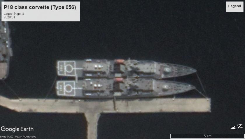 P18 Type 056 corvettes Lagos Nigeria 2020