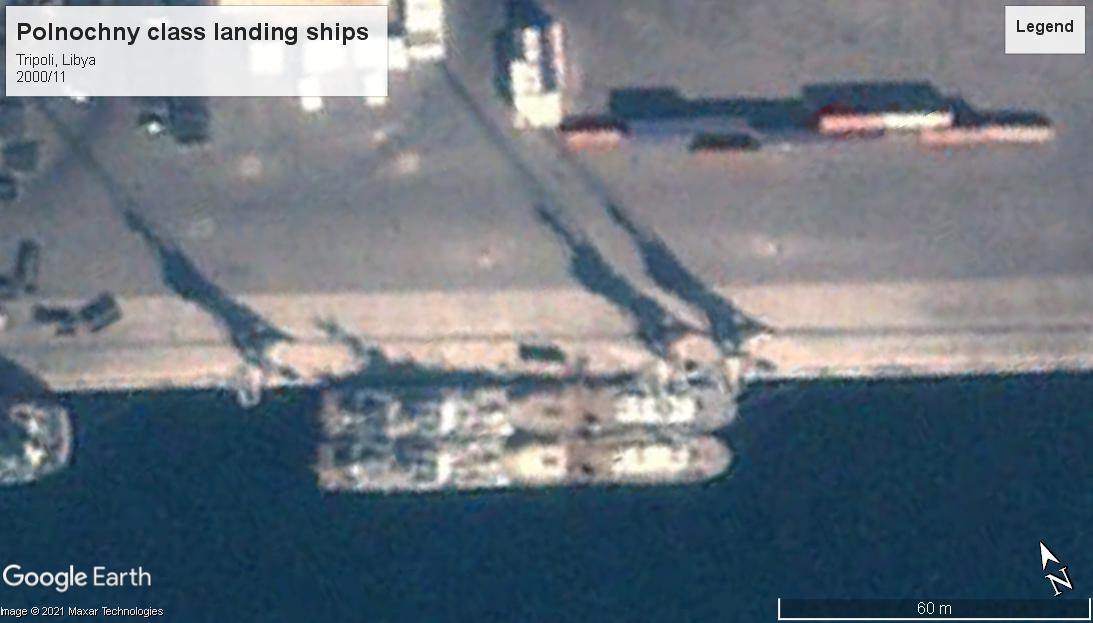 Polnocny landing ship Tripoli 2000