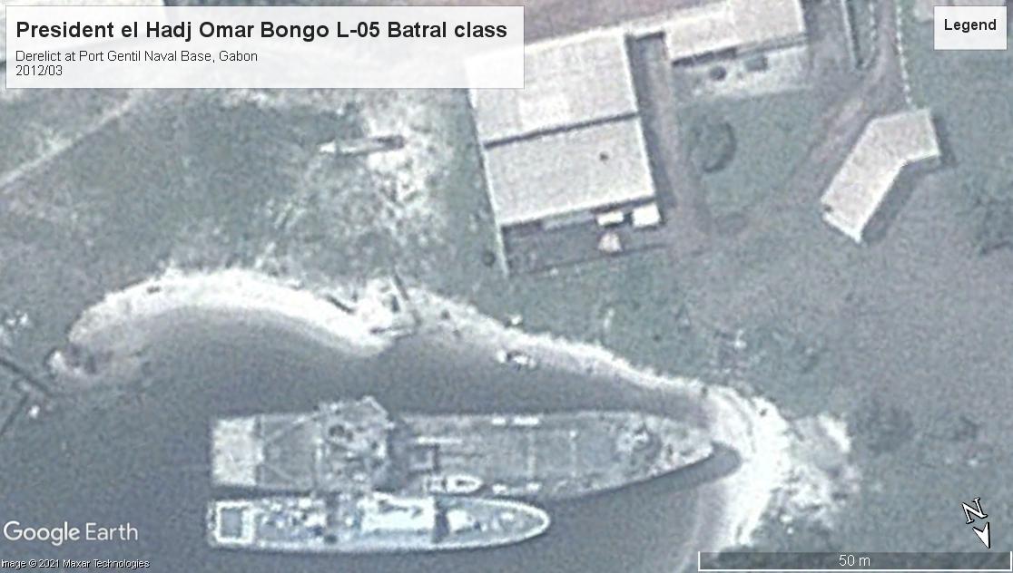 President el Hadj Omar Bongo L-05 BATRAL class LS Gabon 2012