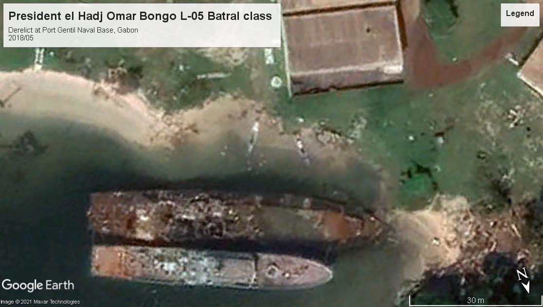 President el Hadj Omar Bongo L-05 BATRAL class LS Gabon 2018