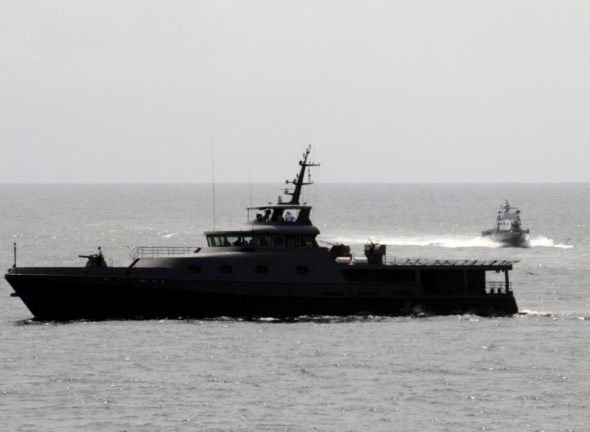 Equatorial Guinean Navy patrol boat Estuario de Muni