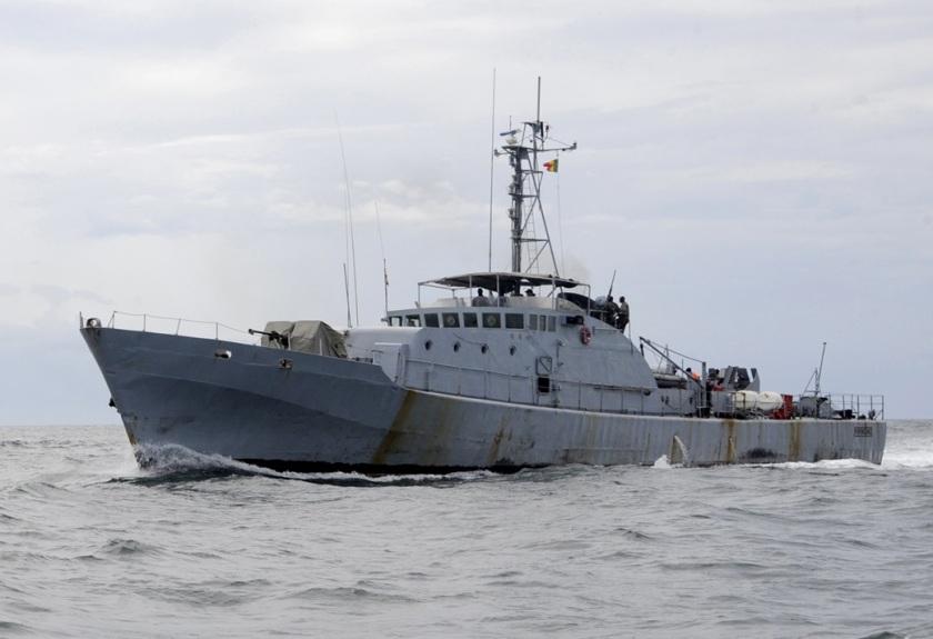 Legare Patrols With Senegal Navy
