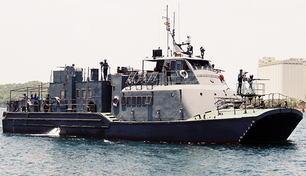 SLNS hansaya A-541 Sri Lankan Navy