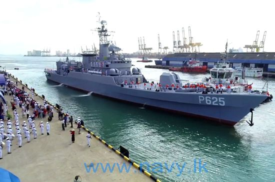 SLNS P-625_vessel_taken_over_from_the_People's_Republic_of_China_on_05th_June_2019
