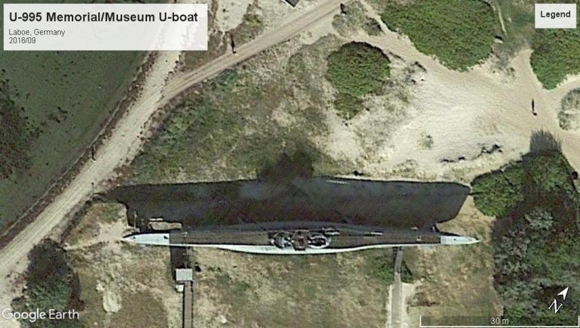 U-995 museum boat Laboe Naval Memorial 2016