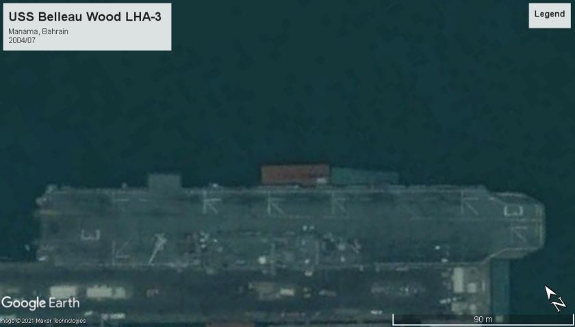 USS Belleau Wood LHA-3 Bahrain 2004