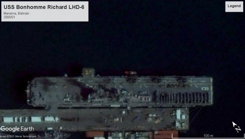USS Bonhomme Richard LHD-6 Bahrain 2005