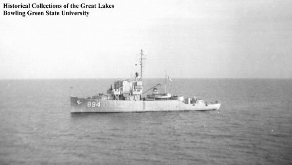 USS PCE-894 BGSU