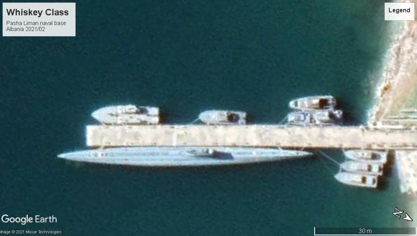 Whiskey class SS Pasha Liman albania 2021