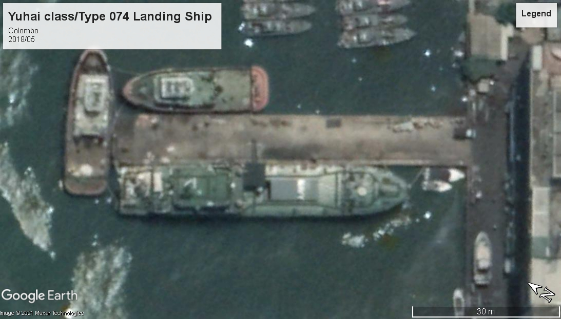 Yuhai - Type 074 LS Colombo Sri Lanka 2018