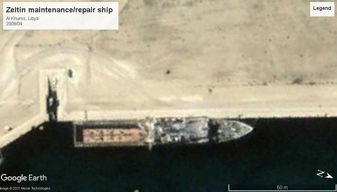 Zeltin repair ship Libya 2006