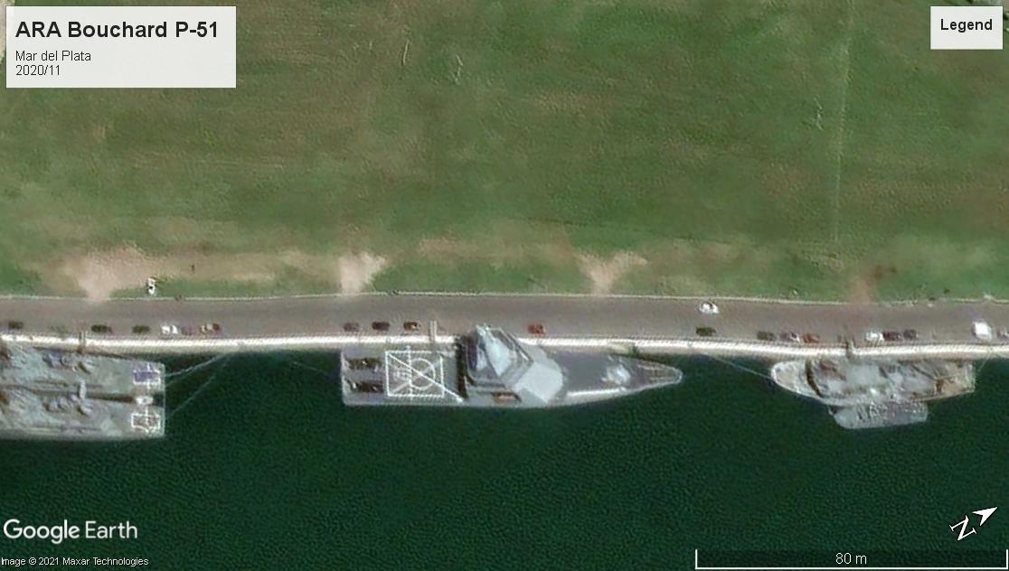 ARA Bouchard P-51 Mar del Plata 2020