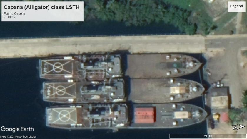 Capana class LSTs Puerto Cabello 2019