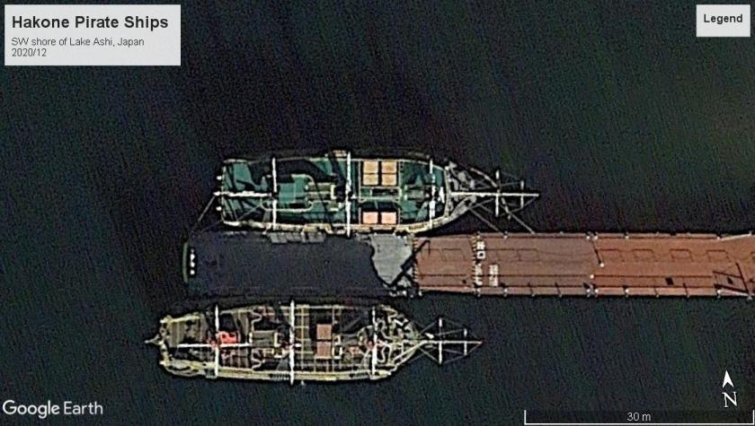 Hakone Japan pirate ships 2020