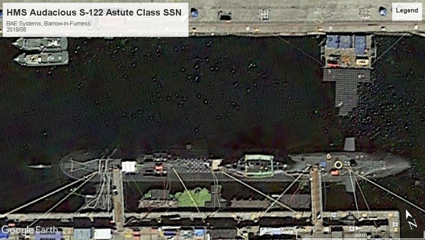 HMS Audacious Astute class SSN BAE 2018