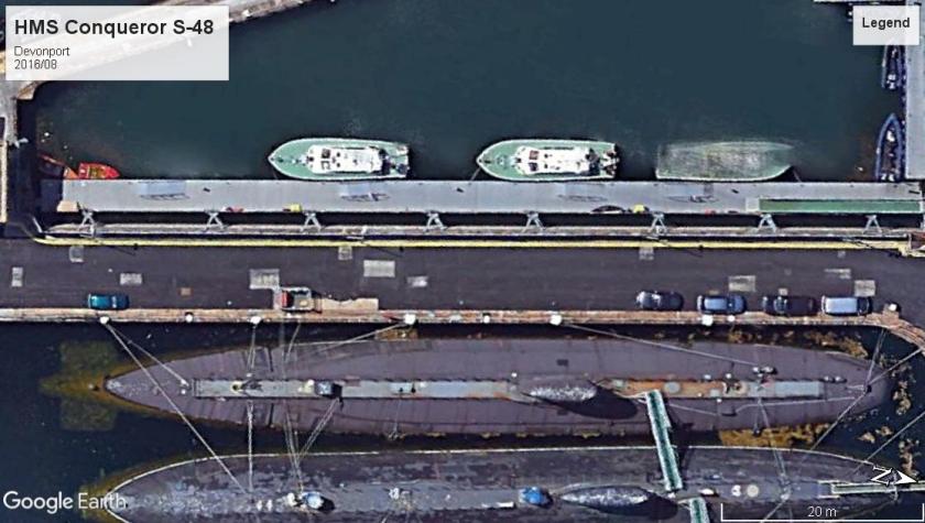 HMS Conqueror S-48 Devonport 2005