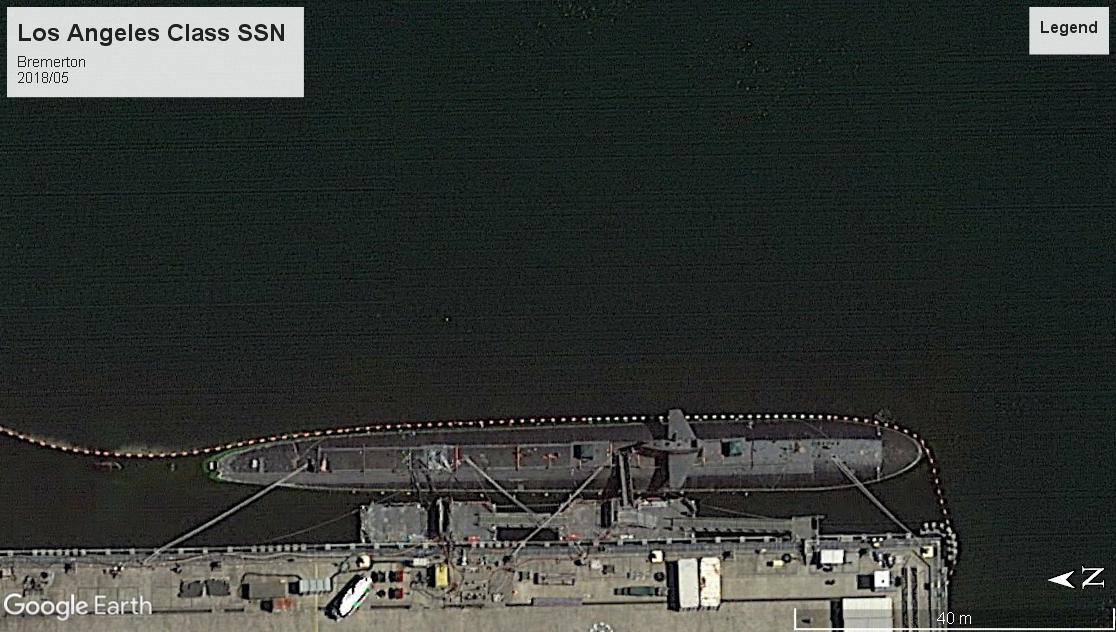 Los Angeles class SSN Bremerton 2018