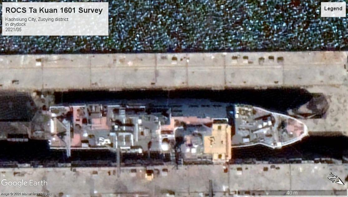 ROCS Ta Kuan survey Kaohsiung City 2021