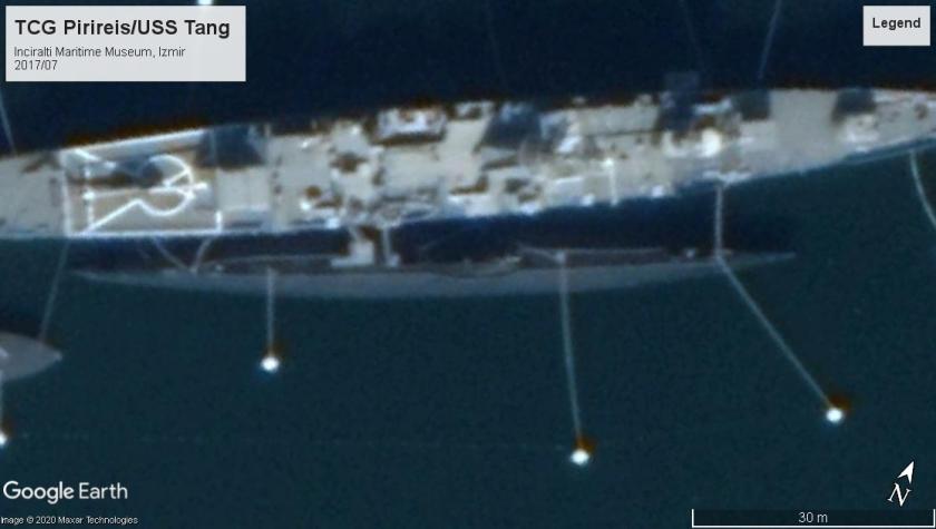 TCG Pirireis-USS Tang Izmir 2017