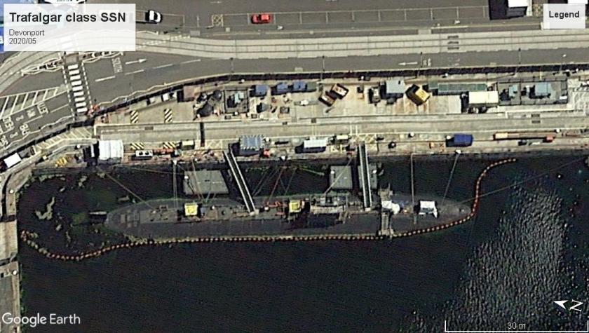 Trafalgar class SSN devonport 2020