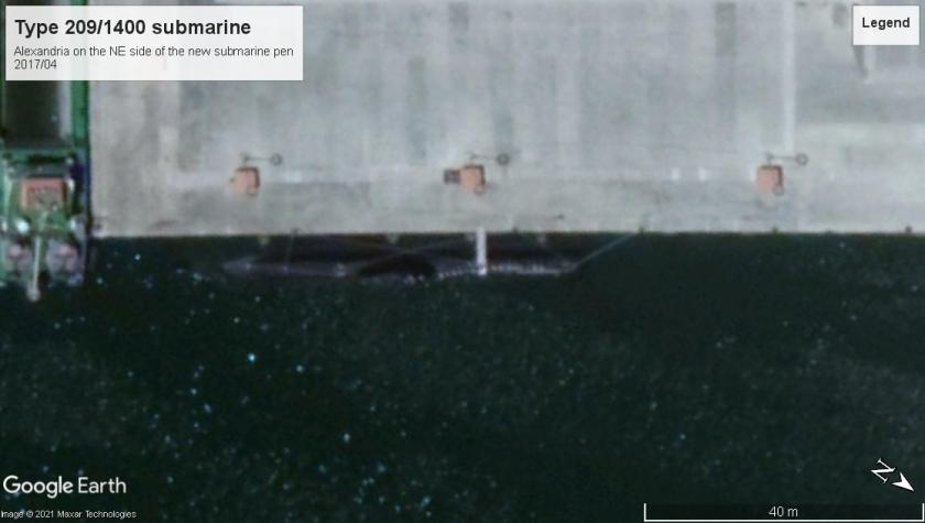 Type 209 Submarine Alexandria 2017-02