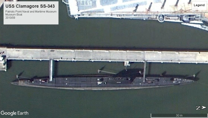 USS Clamagore SS-343 Patriots Point SC 2010