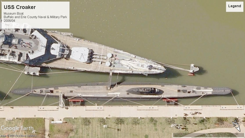 USS Croaker Buffalo NY museum boat 2006