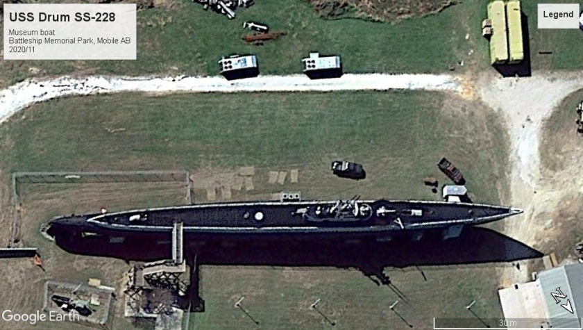USS Drum SS-228 Battleship Mem Park Mobile 2020